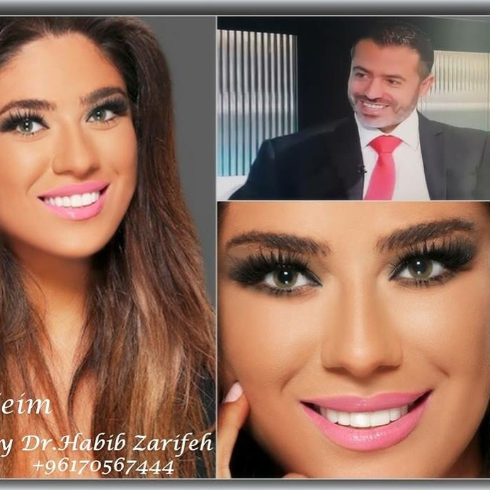 The most expensive Hollywood smile by Dr.Habib Zarifeh creating smiles all over the world.